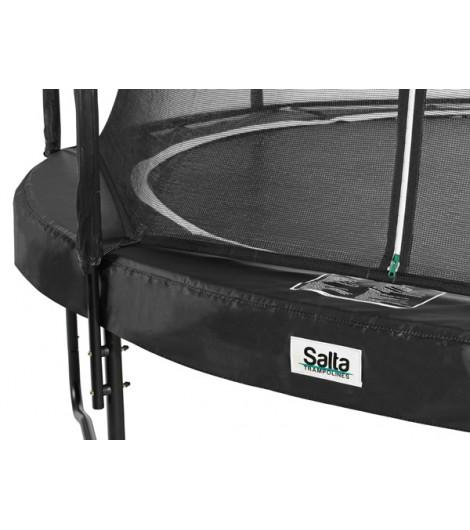 Salta Premium Black Edition, rund, Trampolin