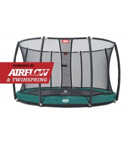 Berg Inground Elite + Sicherheitsnetz Deluxe ø330/380/430 cm, Trampolin