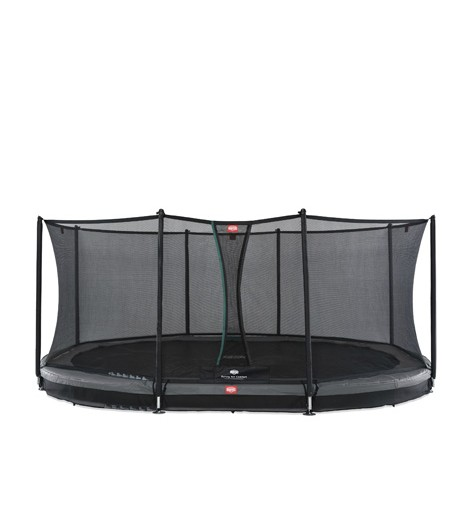 BERG Grand Favorit Inground 520 + Sicherheitsnetz Comfort, oval, Trampolin