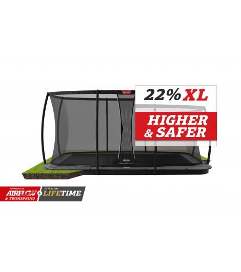 BERG Ultim Champion Flatground Ø410 + Sicherheitsnetz DLX XL