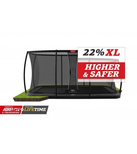 BERG Ultim Elite Flatground Ø500 + Sicherheitsnetz DLX XL
