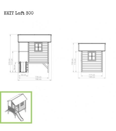 EXIT Loft 300 Spielhaus