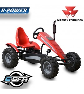 Berg Traxx Massey Ferguson Elektro-BFR Tret-Gokart