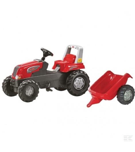 Rolly Junior rot mit Anhänger