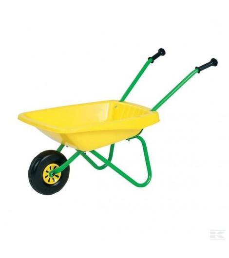 Schubkarre grün/gelb