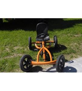 Berg Buddy orange Tret-Gokart Gebraucht