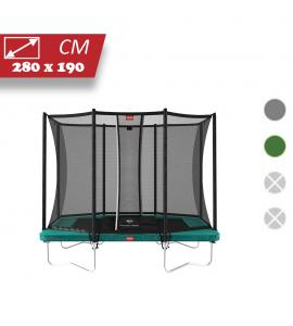 BERG Ultim Favorit 280x190 + Sicherheitsnetz Comfort