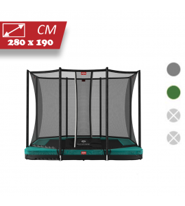 BERG Ultim Favorit Inground 280x190 + Sicherheitsnetz Comfort