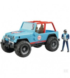 Jeep Cross-country blau