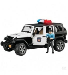 Jeep Rubicon Polizeiauto