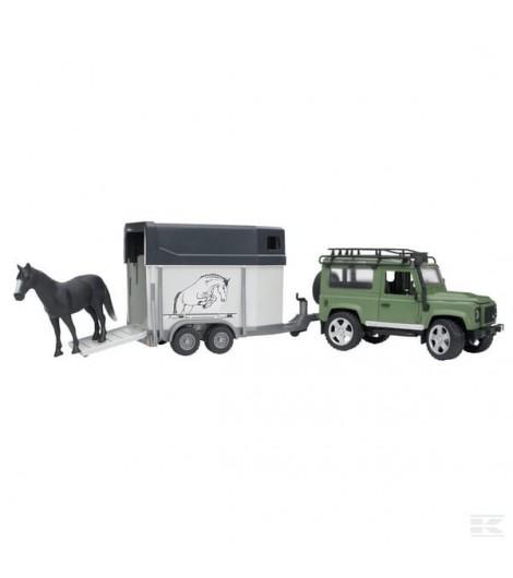 Land Rover Def. m. Pferdeanh.