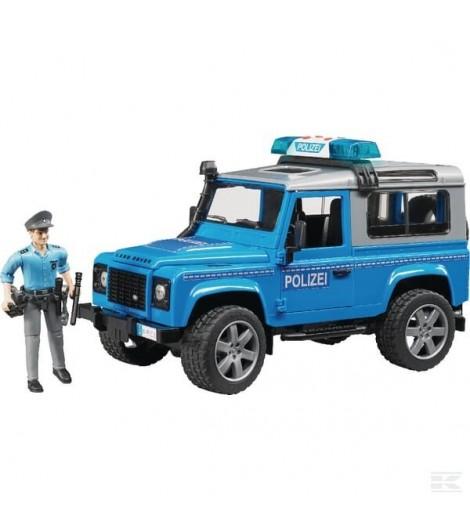 Land Rover Defender Polizei