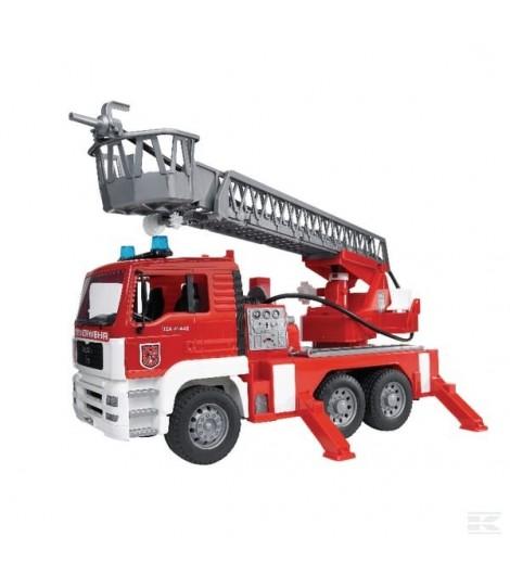 MAN Feuerwehr mit Drehleiter u
