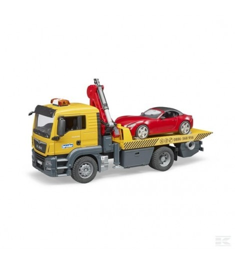 MAN TGS Abschlepp-Lkw mit Brud