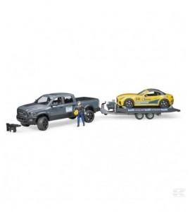 RAM 2500 Pickup und Bruder Roa
