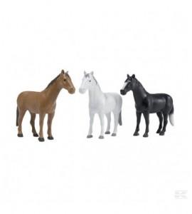 Pferde Set (16 Stück in 3 Farb