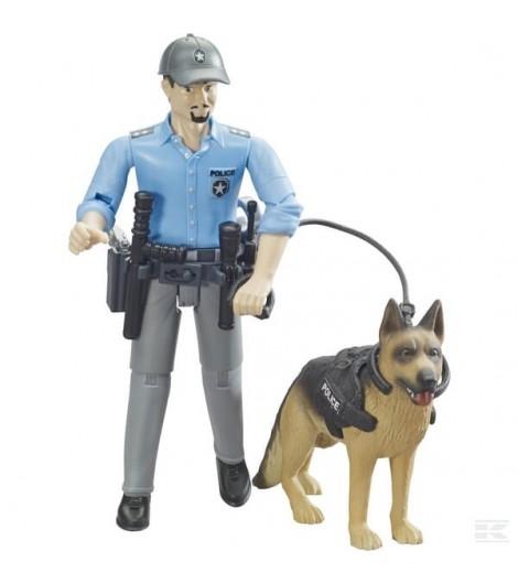Polizist mit Hund