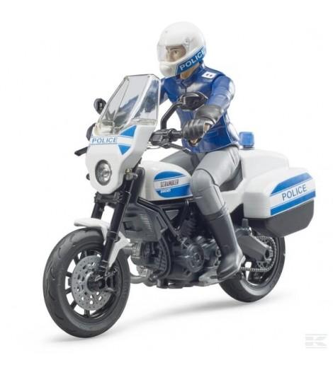 Scrambler Ducati Polizei-Motor