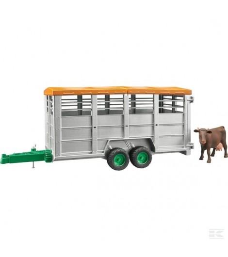 Viehtransportanhänger + 1 Kuh