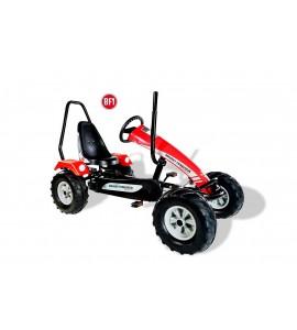 Dino Cars Track Massey Ferguson BF1 inkl. Überrollbügel Tret-Gokart