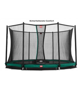 Berg InGround Favorit + Sicherheitsnetz Comfort ø270/330/380/430cm, rund Trampolin